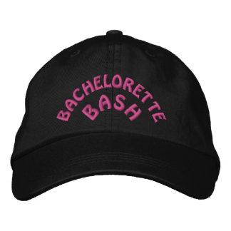 Bachelorette bash embroidered hats