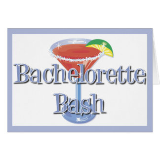 Bachelorette Bash invitations Note Card