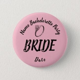 Bachelorette Bride Button