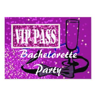 Bachelorette Bride to Be party invitation