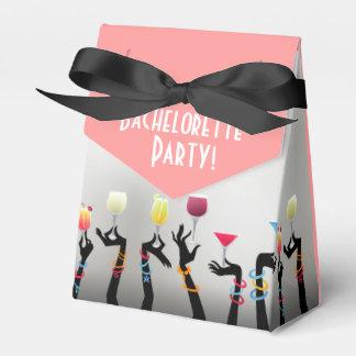 Bachelorette Cocktail Party Party Favor Boxes