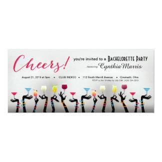 Bachelorette Cocktail Party Custom Invites