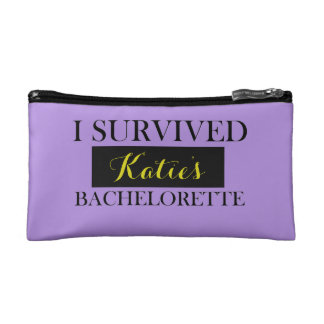 Bachelorette Custom Cosmetics Bag