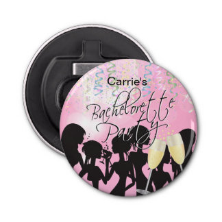 Bachelorette Girls Night Out - Pink Bottle Opener