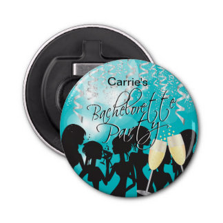 Bachelorette Girls Night Out - Turquoise Bottle Opener
