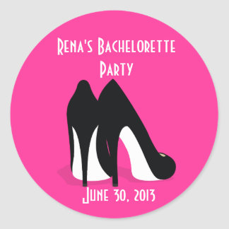 Bachelorette Heels Sticker