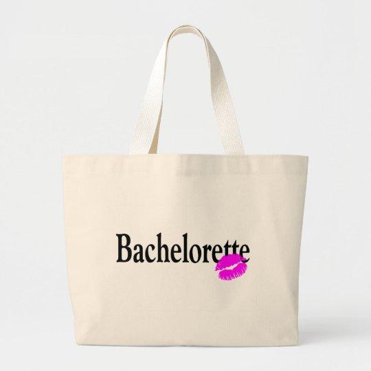 Bachelorette (Kiss) Large Tote Bag