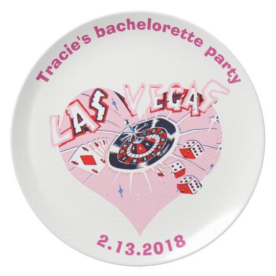 Bachelorette Las Vegas personalised Plate