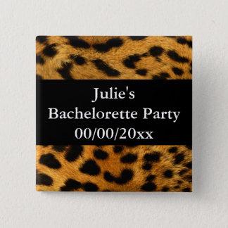 Bachelorette Party 15 Cm Square Badge