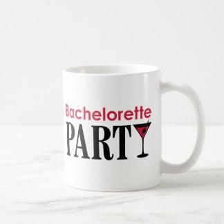 Bachelorette party basic white mug