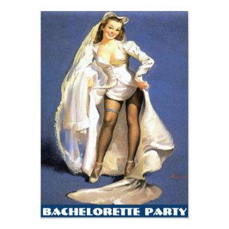 bachelorette party,bridal shower,hen party.... 13 cm x 18 cm invitation card