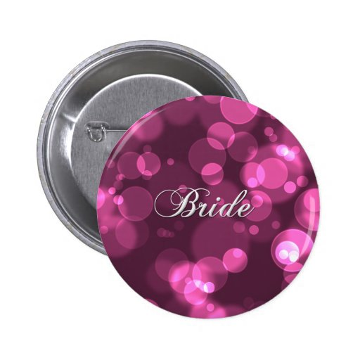 Bachelorette Party Bride Button [pink]