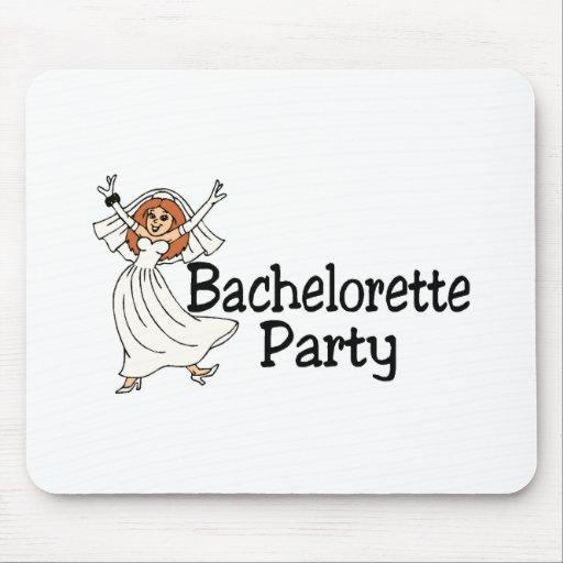 Bachelorette Party Bride Mouse Pads