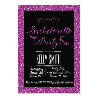 Bachelorette party design 9 cm x 13 cm invitation card