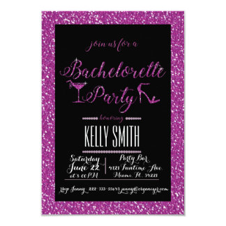 Bachelorette party design card