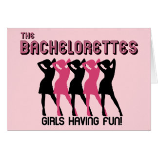 Bachelorette Party invitation Note Card