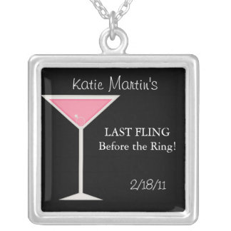 Bachelorette Party Keepsake Necklace