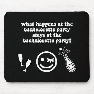 Bachelorette Party Mouse Pad