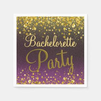 Bachelorette Party Paper Napkin