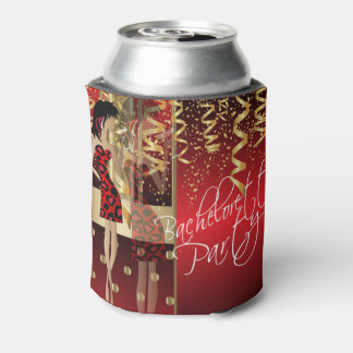 Bachelorette Party  - Party Girl Red Can Cooler