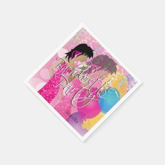 Bachelorette Party  - Pink Disposable Serviette