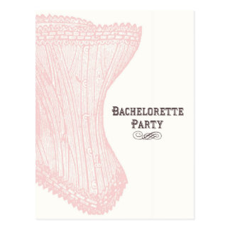 Bachelorette Party Postcard