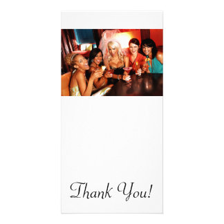 Bachelorette Party Toast Photo Cards