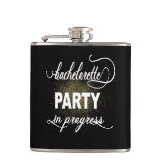 Bachelorette Party Vinyl Wrapped Flask