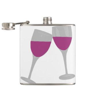 bachelorette paty hip flask