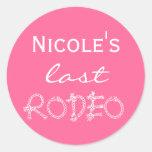 bachelorette stickers