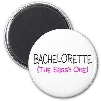 Bachelorette The Sassy One 6 Cm Round Magnet