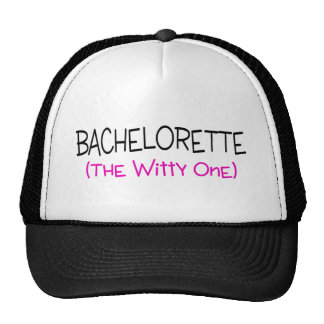 Bachelorette The Witty One Hats