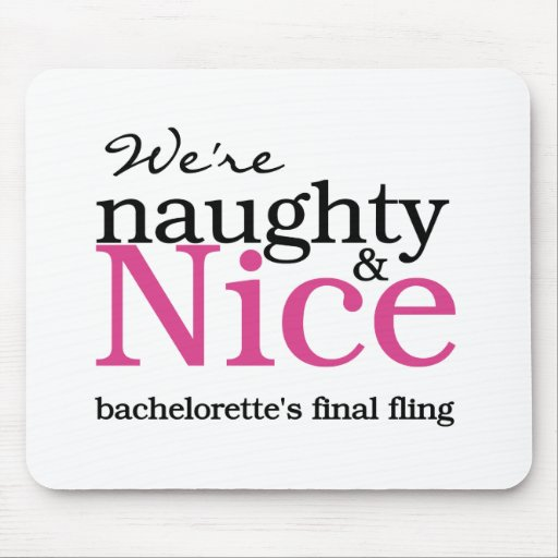 Bachelorettes Final Fling Pink Mouse Pads