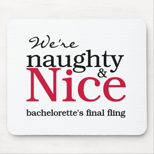 Bachelorettes Final Fling Red Mouse Pad