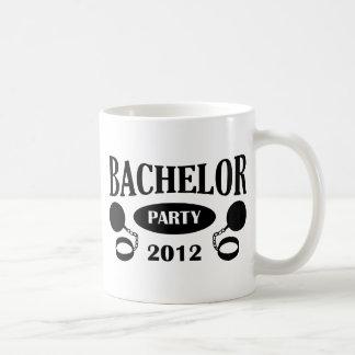 Bachelor's degree party basic white mug