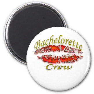 Bachlorette and Her Party Crew Fridge Magnet
