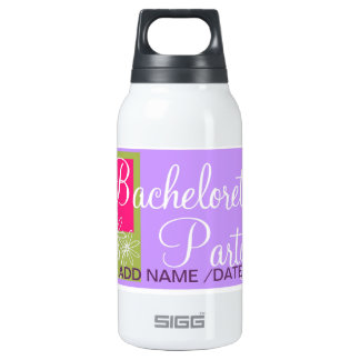 BACHLORETTE FAVORS 10 OZ INSULATED SIGG THERMOS WATER BOTTLE