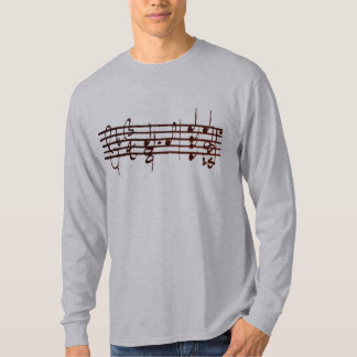 Bach's Chaconne for Violin - first 2 measures Tee Shirt