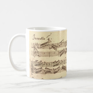 Bach's Invention Coffee Mug