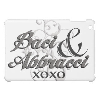 Baci & Abbracci - Hugs & Kisses - XOXO iPad Mini Cases