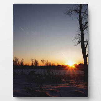 Back 40 Sunset Plaque