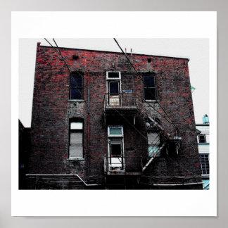 Back Alley Grime Poster