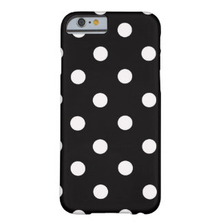 Back and White Polka Dot iPhone 6 case