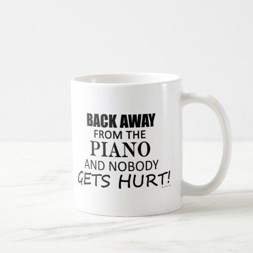 Back Away From The Piano Mug