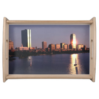 Back Bay Boston Eighties Serving Tray