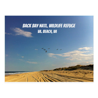 Back Bay National Wildlife Refuge, VA Beach, VA Postcard