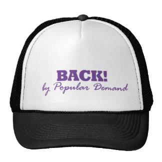 BACK!By Popular Demand Cap