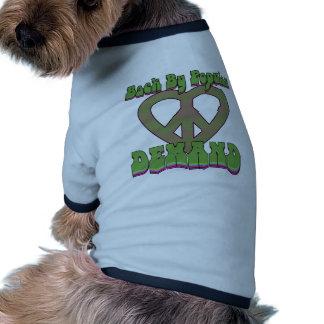 Back by Popular Demand Pet Tshirt