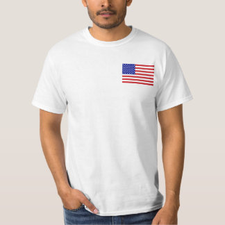 """Back: """"Don't Tread On Me"""" Flags T-Shirt"""