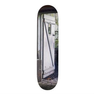 Back Door of Shop Skateboard Deck